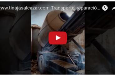 desalojo de tinajas de hormigón en bodegas